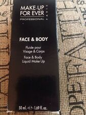 MAKE UP FOR EVER FACE & BODY LIQUID MAKE UP 1.69 OZ  shade # 3 FULL SIZE