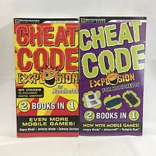 2 PC Lot BradyGames Cheat Codes Explosion for Handhelds 2 in 1 Free Shipping