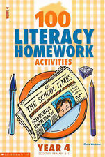 100 Literacy Homework Activities for Year 4,GOOD Book