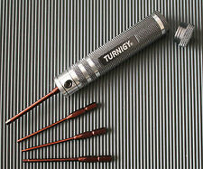 Turnigy 4er Set 1,5/2/2,5/3mm Hex Driver Sechskant-Schraubendreher Set Inbus