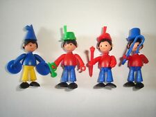 KINDER SURPRISE SET - CHARLY CIRCUS BAND MUSICIANS - FIGURES TOYS COLLECTIBLES