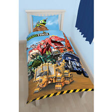 Dinotrux Mechanix Monster Kinder Bettwäsche Bettbezug 135 x 200 cm neu