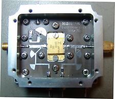 MICROWAVE RF AMPLIFIER 9.5-10.5 Ghz 8W
