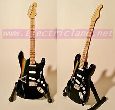 Mini Guitar david Gilmour Stratocaster dark side of pink floyd chitarra GITARREN