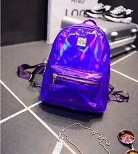 Mini Summer Shiny Laser Small School Daily Bag Holiday Shoulders Backpack Casual