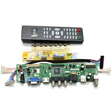 LCD Monitor Controller Board Kit For Samsung Full-HD LTN184HT01-A01 Panel DIY TV