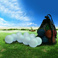 Nylon Mesh Net Bag Pouch Golf Tennis 15 Ball Carrying Holder Storage Durable New