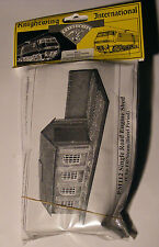 """Knightwing single road engine shed, unpainted kit,""""00"""" model railway scenics"""