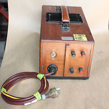 Vintage Ohmmeter low resistance DUCTER No. 1799879 antique in wooden box