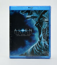 Alien: Quadrilogy (Alien Aliens Alien 3 Alien Resurrection Blu-Ray Discs) NEW