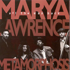 MARYA LAWRENCE-All The Way Back-SWING JAZZ-upright bass-MOONGLOW-Recommended-Cd