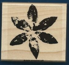 FLOWER DAISY Create Design Stampin' Up! 2005 Craft Hobby Wood Mount RUBBER STAMP