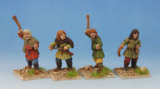 Dark Ages Early Saxon Slingers Footsore Miniatures SAGA 03ESX107