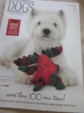 IN THE COMPANY OF DOGS CATALOG GIFT BOOK 2015 BREEZE WEST HIGHLAND WHITE TERRIER