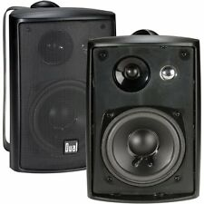 Dual Indoor/Outdoor Speakers Black  (2) , LU43PB Free Shipping Brand New