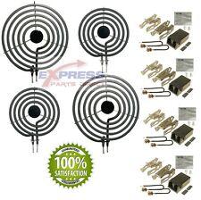 """MP21YA MP15YA 330031 Range Element Unit 8"""", 6"""" and Receptacle Set 660533 660532"""