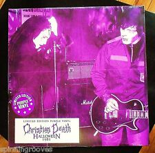 CHRISTIAN DEATH: Halloween 1981 (Purple Vinyl LP) Limited Edition  ~  NEW!