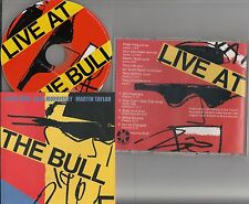 DICK MORRISSEY/PETER KING/MARTIN TAYLOR Live Jazz at The Bull Pub Barnes 1987 CD