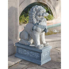 Grande Supreme Guardian Symbol of Strength and Energy Foo Dog Guardian Sculpture
