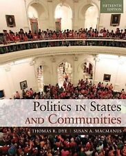 Politics in States and Communities Plus MySearchLab with eText -- Access Card Pa