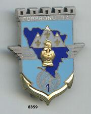 Insigne génie , 1 /  17 Rgt. de Génie Parachutiste - FORPRONU. 94