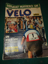 FRANCE VELO MAGAZINE N°124 OCTOBRE 1978 JAN RAAS, HINAULT