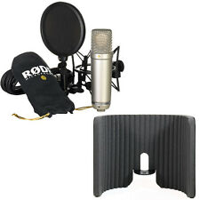 RODE NT1-A Condenser Microphone with Primacoustic VoxGuard Reflection Filter