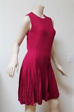 New $2795 Alexander McQueen Violet Fuxia Knit Dress Size S
