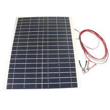 20W 12V Charger Kit-Diy Foldable Solar Panel For Camping Hiking Traveling 12V
