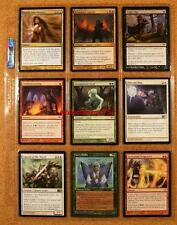 9 x MAGIC THE GATHERING MINT TRADING CARDS MIXED EDITIONS  #119