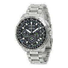 Citizen Promaster Navihawk Black Dial Mens Chronograph Watch CC9030-51E