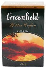 200g Greenfield Tee   Golden Ceylon   Schwarzer