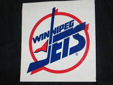 WINNIPEG JETS HOCKEY LOGO VINTAGE ORIGINAL STICKER NEVER USED 1996 MANITOBA