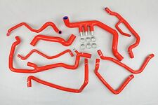 Kit 9 durites EAU silicone Megane 2 II RS 225 230 R26 R26R Renault Sport Rouge