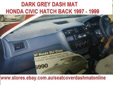 DASH MAT, DASHMAT, DASHBOARD COVER FIT  HONDA CIVIC 1997 - 1999, DARK GREY