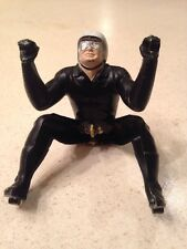 Vintage 1960s Aurora Thundercycle 1/24 Scale Slot Car Black Rider