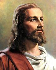 "Jesus Christ Portrait Art Print 8""x 10"" Christian Photo 3"
