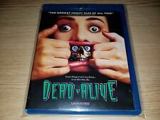 """Dead Alive (Blu-ray Disc, 2011, Unrated) """"Braindead"""" Peter Jackson Mint RARE OOP"""