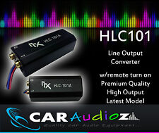 High to Low Level RCA Line Output Converter inc auto Remote Turn On, (On Sale)