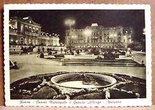 Rimini - casino municipale e Grande Albergo - notturno [grande, b/n]