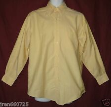 Men's Brooks Brothers Shirt Size 15 ~ 32 Long Sleeve Button Down Yellow