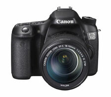 Canon EOS 70D 20,2 MP Digitalkamera - Schwarz (Kit mit EF-S 18-135mm IS...