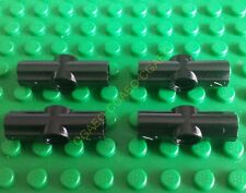 4 x  Lego Technic 32034 Axle and Pin Connector Angled #2 (Black)