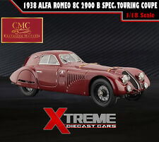 CMC M-107 1:18 1938 ALFA ROMEO 8C 2900 B SPEC. TOURING COUPE RED