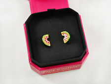 Juicy Couture Pave Watermelon Studs Earrings
