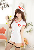 New Women's Sexy Costumes Cosplay Nurse Uniform Lingerie Fancy Dress Set Outfit