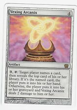 MTG 8th Edition Rare Vexing Arcanix, M to NM, card has never been played