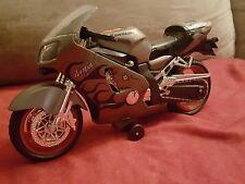 Silver Kawasaki Motorcycle Ninja Road Rippers Toy State