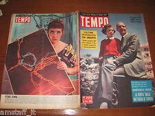 RIVISTA TEMPO 1952/23=UMBERTO DI SAVOIA=LALLA ALDROVANDI=INGRID BERGMAN=