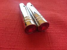 LOWRIDER HYDRAULICS Aluminum Switch Extensions Red (2)pack,Peterbilt,Carling